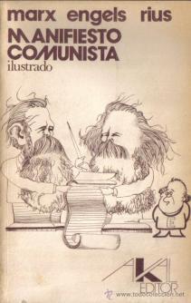 Rius_Karl_marx_manifiesto_comunista_ilustrado