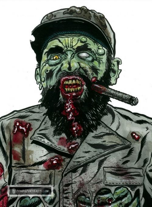 fidel zombie