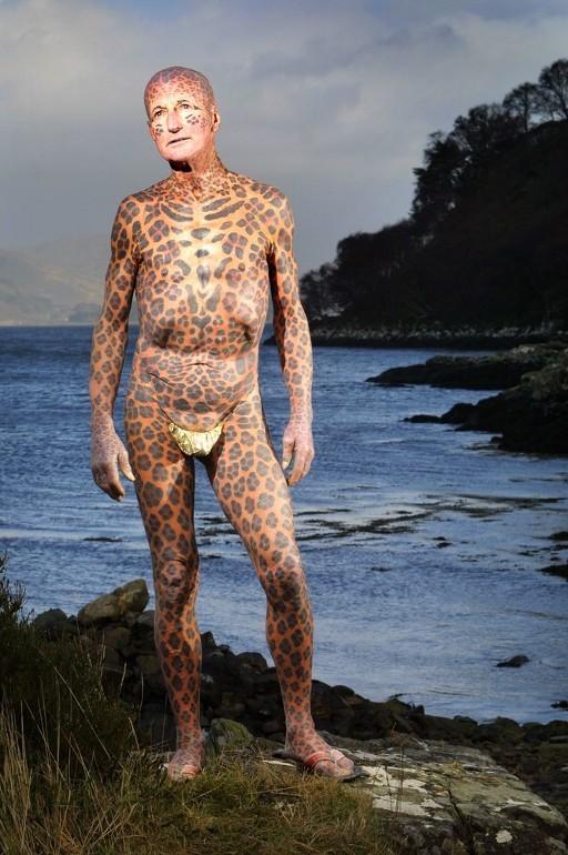 """Tom Leppard """"El hombre leopardo"""" 06"""
